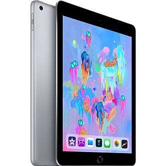 <strong>ANBEFALING:</strong> Apple iPad 2018. Foto: Produsenten.