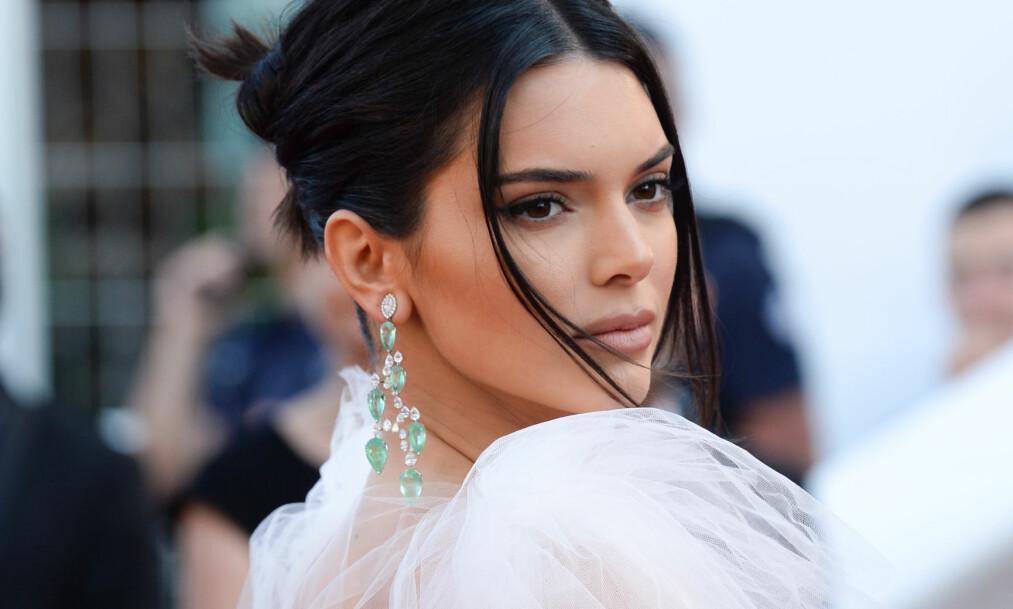 <strong>POPULÆR:</strong> Kendall Jenner er en ettertraktet modell, men hun satte tidligere i år helsen foran jobben. Her er hun avbildet under filmfestivalen i Cannes. Foto: NTB Scanpix