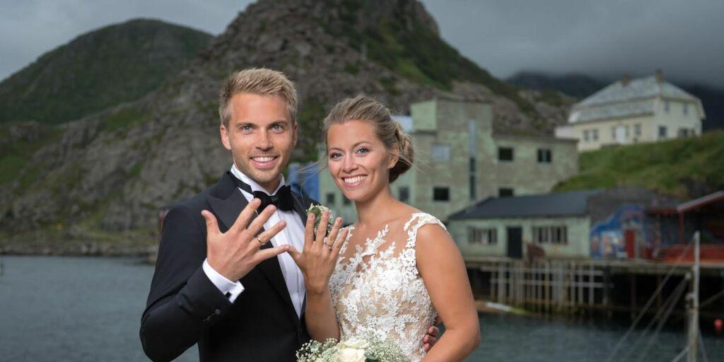 image: Nå er «Farmen»-paret gift