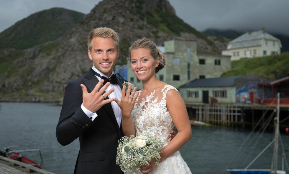 NYGIFT: Synne Bolstad og Morten Emil Bergan har giftet seg. Foto: Øystein Lunde Ingvaldsen