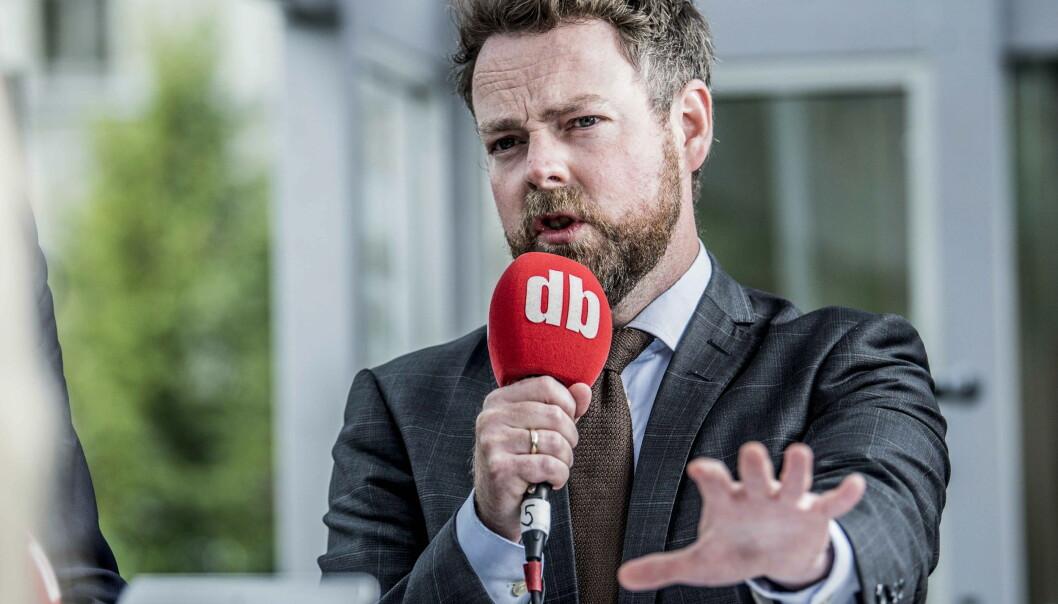 GODT FORSLAG: Torbjørn Røe Isaken mener det er behov for en ny ytringsfrihetskommisjon. Det er en god ide, men bare om den får et bredt og åpent mandag, mener Dagbladet. Foto: Thomas Rasmus Skaug / Dagbladet