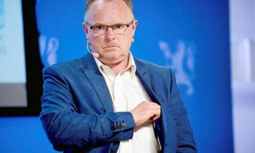 image: Sandberg sendte melding på natten. PST anbefaler å anmelde statsråden (fiskeribladet.no)
