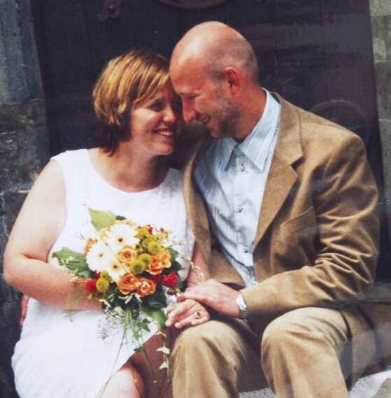 <strong>LÆRER-KJÆRESTER:</strong> Margaret og Ivan ble kjærester da de gikk på lærerskolen. De giftet seg i 2002. FOTO: PRIVAT