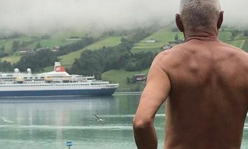image: MDG-politikerens nakne protest