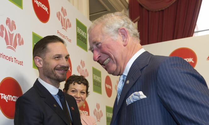 <strong>GODE VENNER:</strong> Tom og Prins Charles har også en god tone mellom seg. Foto: NTB Scanpix