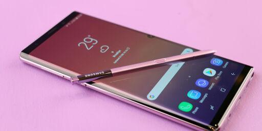 image: Samsungs nye mobil-flaggskip har plass til én terabyte med data