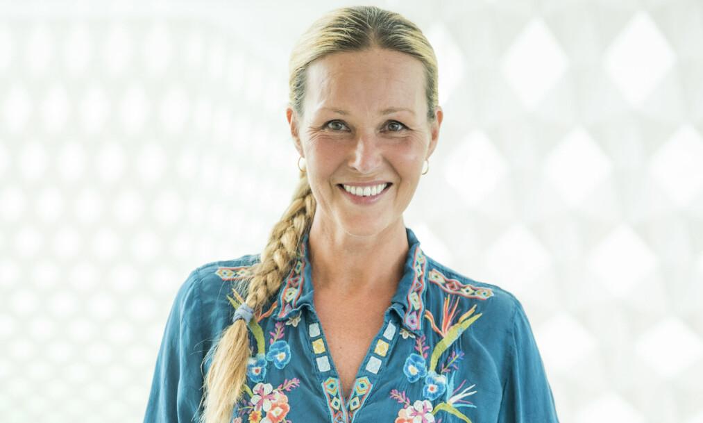 <strong>SATSER:</strong> Til tross for noen uheldige danse-episoder tidligere, er programleder Dorthe Skappel klar for å gi alt i «Skal vi danse». Foto: NTB Scanpix