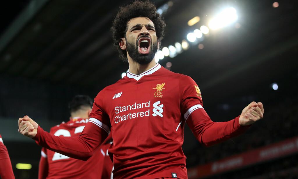 KAN HAN GJENTA BEDRIFTEN? Liverpools Mohamed Salah scoret 44 mål i alle konkurranser forrige sesong. Foto: NTB Scanpix