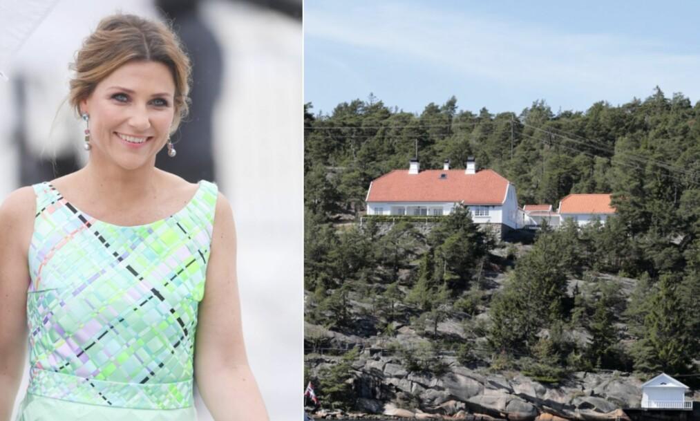 <strong>SELGER HYTTA:</strong> Prinsesse Märtha Louise er i ferd med å selge sommerhuset på Hankø. Foto: NTB Scanpix