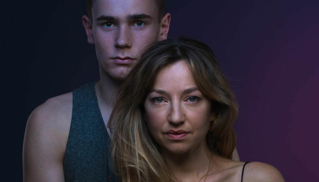 EN AFFÆRE: Tarjei Sandvik Moe og Andrea Bræin Hovig spiller hovedrollene i den allerede mye omtalte thrilleren «En affære», som har premiere 5. oktober 2018. FOTO: SF Studios // Filmweb