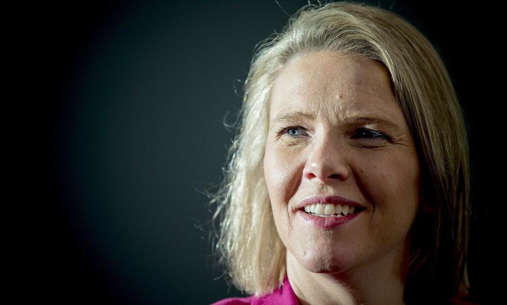 TIL ARENDAL I DAG: Sylvi Listhaug har ladet batteriene på ferie med familien i Sør-Afrika og USA i sommer. I dag er hun tilbake i det politiske rampelyset for Frp i Arendalsuka. Foto: Bjørn Langsem / Dagbladet