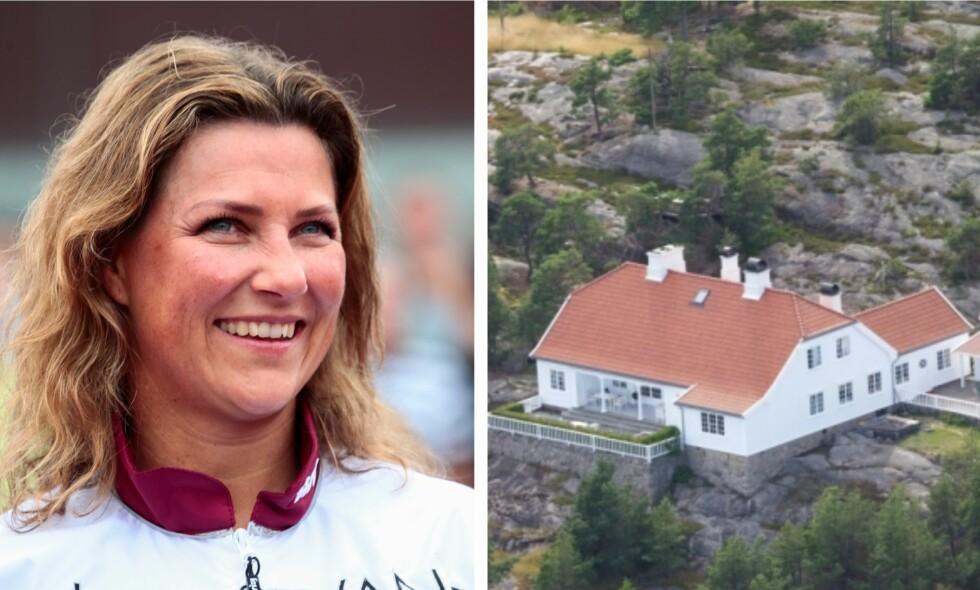 SELGES: Tidligere denne uken ble det kjent at prinsesse Märtha Louise selger ferieparadiset Bloksbjerg. Det er tydelig at det har betydd mye for Märtha. Foto: NTB Scanpix / Se og Hør