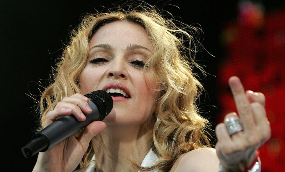 60 ÅR: Madonna fyller i dag 60 år. I løpet av sin karriere har «dronninga av pop» både bergtatt og sjokkert en hel verden. Foto: NTB Scapix