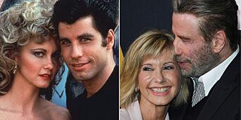 image: Personlige tragedier og sykdom: Her gjenforenes «Grease»-paret etter 40 år
