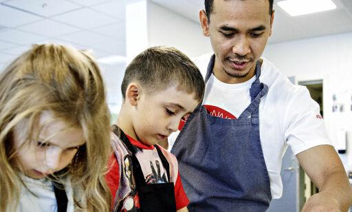 image: Private luksusbarnehager har egen kokk, andre får ikke grønnsaker på bordet