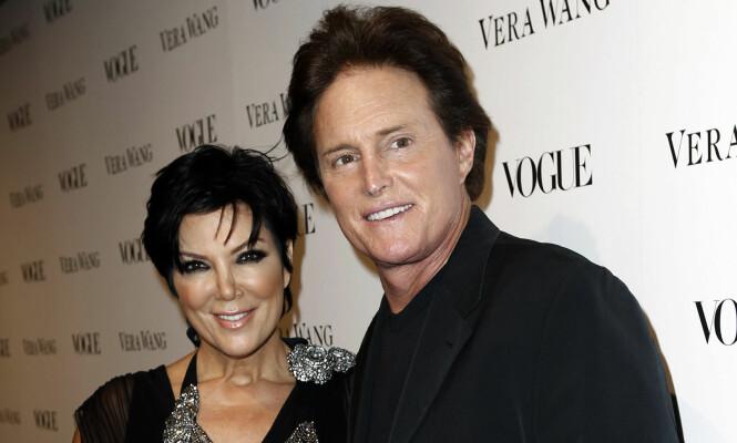 KONFLIKT: Kris og Bruce Jenner var gift i 24 år. Forholdet tok slutt før Bruce byttet kjønn og ble Caitlyn Jenner. Her avbildet under gallamiddag arrangert av Vogue i 2010. Foto: Matt Sayles / NTB Scanpix