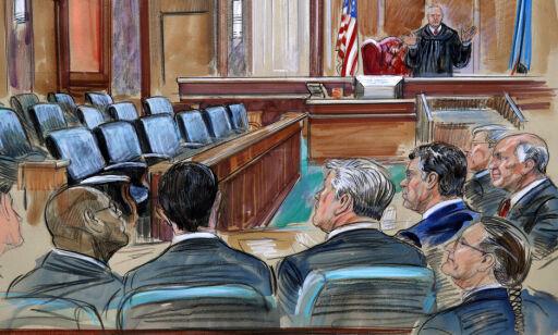 image: Trump skryter av tiltalt eks-valgkampsjef - dommeren frykter for juryens sikkerhet