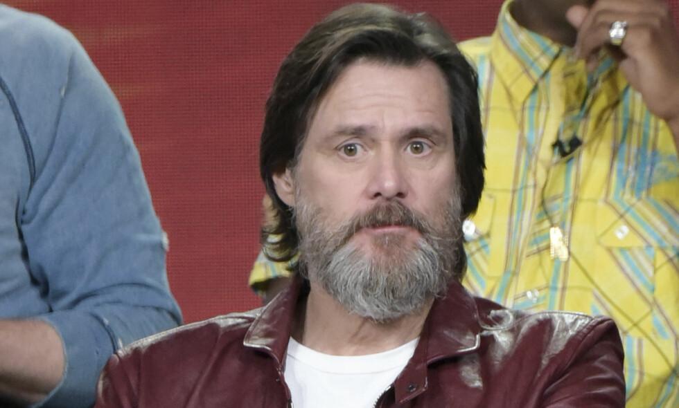TILBAKE I RAMPELYSET: Etter flere års pause fra skuespillerkarrieren, er Jim Carrey tilbake igjen med en ny TV-serie. Foto: NTB Scanpix