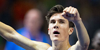 BERLIN, TYSKLAND  20180811. Jakob Ingebrigtsen under finalen på 5000 meteren i friidretts-EM på Olympiastadion i Berlin lørdag. Foto: Fredrik Hagen / NTB scanpix