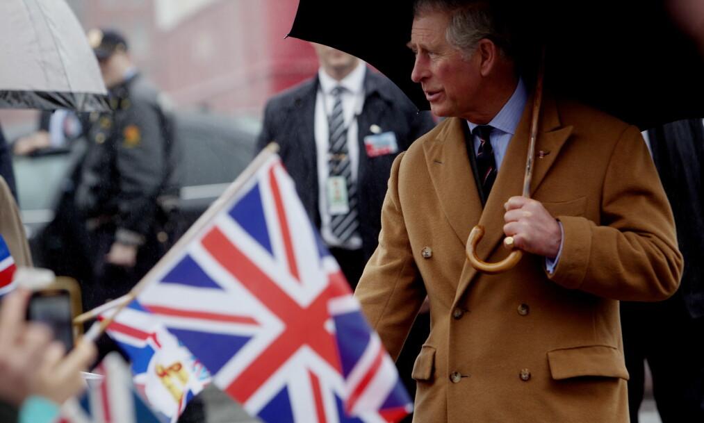 KONG....? Det er ikke gitt at Prins Charles blir kong Charles. I Storbritannia har flere konger endret navnet før de ble konge. Foto: NTB Scanpix