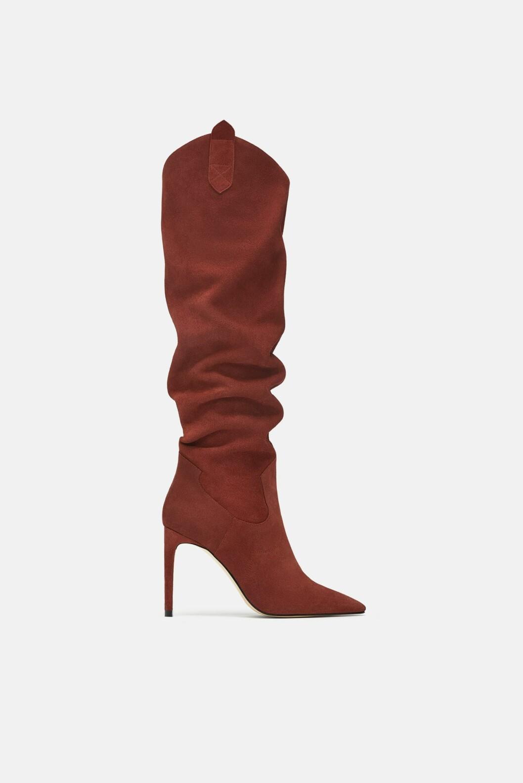 <strong>Sko fra Zara |1400,-| https:</strong>//www.zara.com/no/no/h%C3%B8yh%C3%A6lt-st%C3%B8vel-i-mykt-skinn-p15008301.html?v1=6963527&v2=1074625