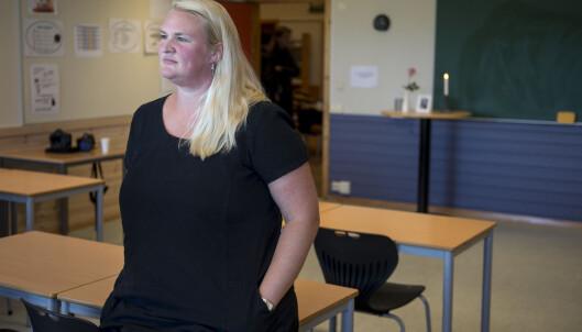 <strong>Kontaktlærer:</strong> Elisabeth Hovstad Taksdal. Foto: Carina Johansen / NTB Scanpix