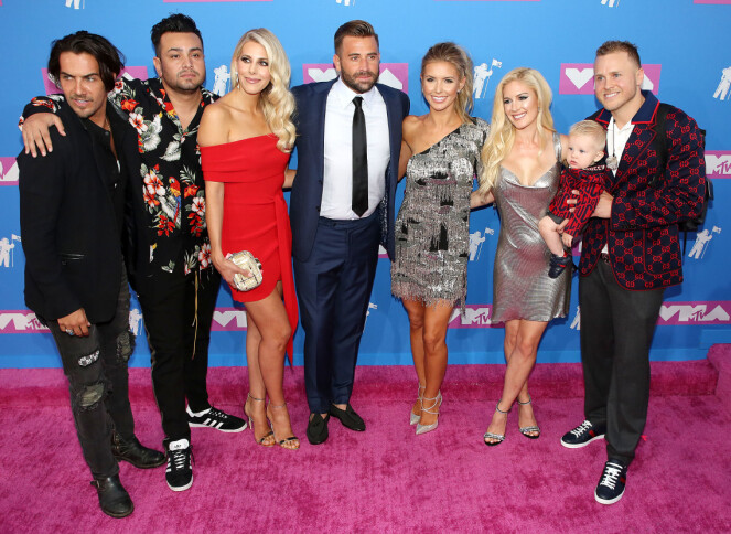 MTV VMA 2018: Flere av The Hills-stjernene deltok på prisutdelingen i august.