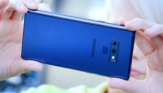 <strong>ANBEFALT:</strong> Galaxy Note 9 får Dinsides anbefalt-stempel, om du er villig til å legge 10.000 kroner på bordet for den. Foto: Ole Petter Baugerød Stokke