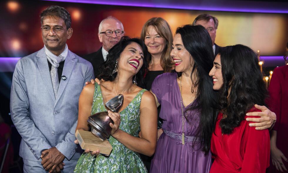 STORESLEM: Iram Haq kunne glede seg over at filmen hennes «Hva vil folk si» vant fire Amanda-priser i år. Foto: Lars Eivind Bones / Dagbladet