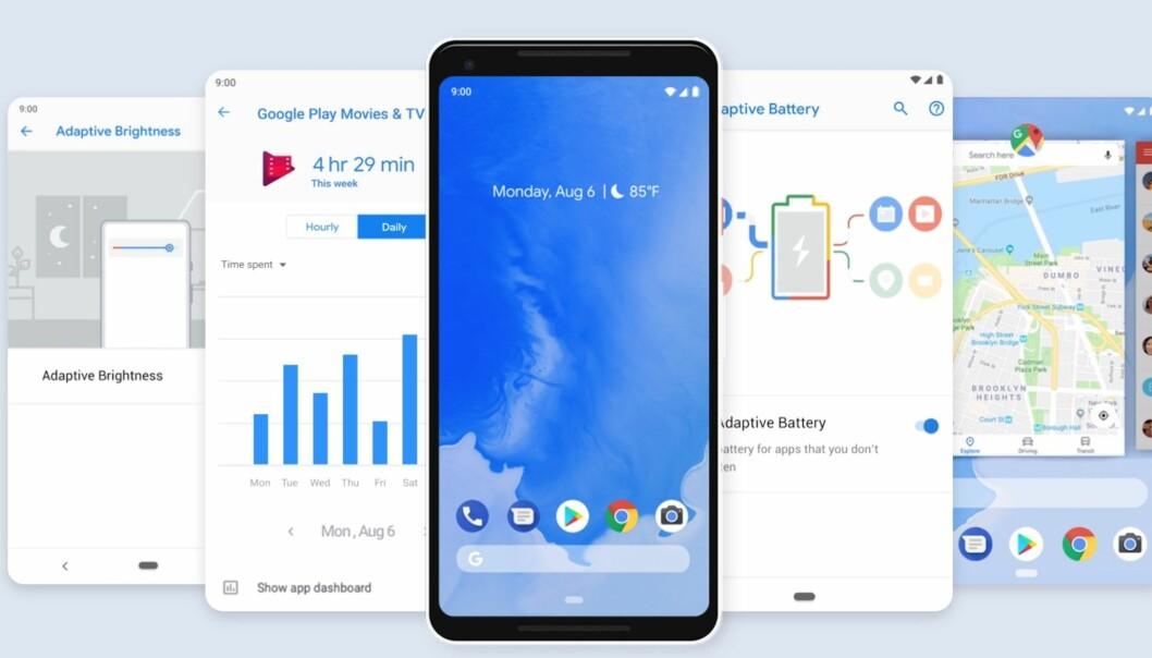 Sjekk om din telefon får den nye Android-utgaven