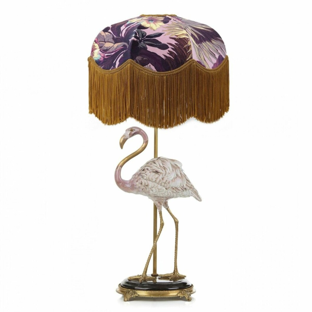 Lampe fra House of Hackey |8000,-| https://www.millaboutique.no/nyheter/flamingo-lampe
