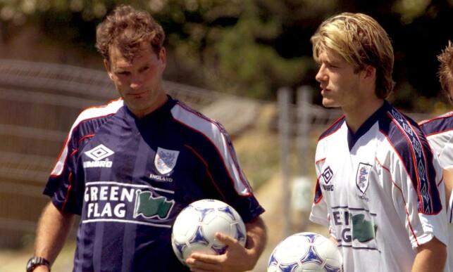 VRAKET: England-trener Glen Hoddle vraket David Beckham til VM-åpningen. Foto: Russell Boyce/Reuters/NTB Scanpix