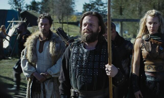 MER VIKINGHUMOR: Kåre Conradi i rollen som Orm i den norske komedien «Vikingane». Foto: Sagveien Resort