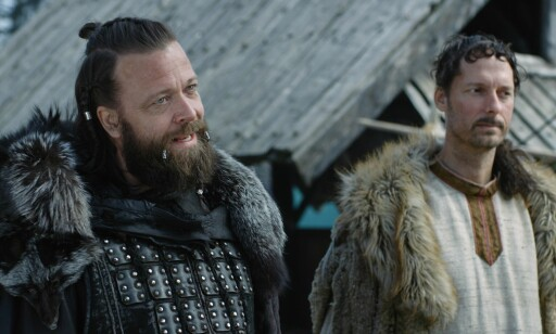 Kåre Conradi og Trond Fausa Aurvåg har sentrale roller i «Vikingane». En tredje sesong er under planlegging. Foto: Sagveien Resort