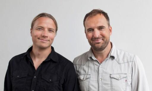 SKAPERNE: Jonas Torgersen og Jon Iver Helgaker. Foto: Sagveien Resort