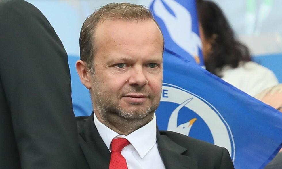 SJEF: Ed Woodward er konserndirektør i Manchester United og Glazer-familiens nærmeste i Manchester-klubben. Trolig ligger José Mourinhos framtid i den engelske direktørens hender. Foto: James Boardman/TPI/REX/Shutterstoc/NTB scanpix