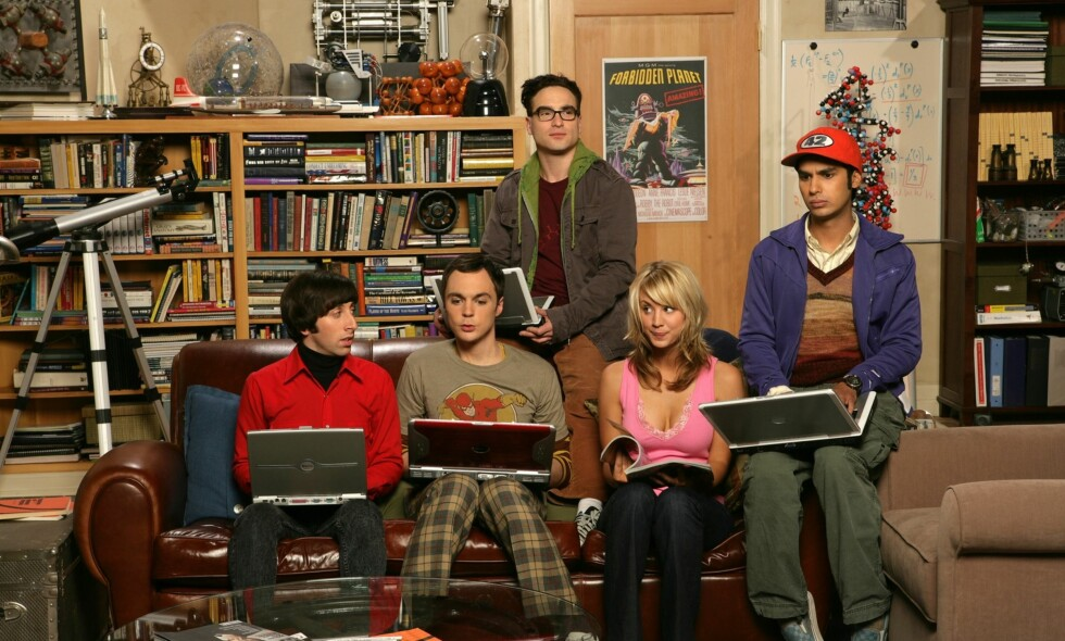 SLUTT: «The Big Bang Theory» avsluttes etter 12 sesonger. Foto: Discovery Networks/ TV Norge