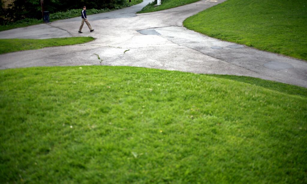 VEIVALG: - Du snyter deg selv for muligheter du ikke visste du hadde, hvis du tror du er skapt for kun én ting, skriver artikkelforfatteren. Foto: Sara Johannessen / SCANPIX