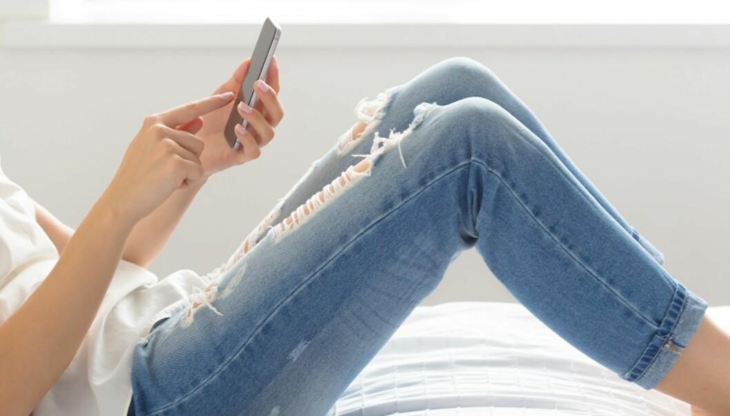 MYE Å VELGE I: Kvinner får ofte mange meldinger på sjekkeapper. FOTO: NTB Scanpix