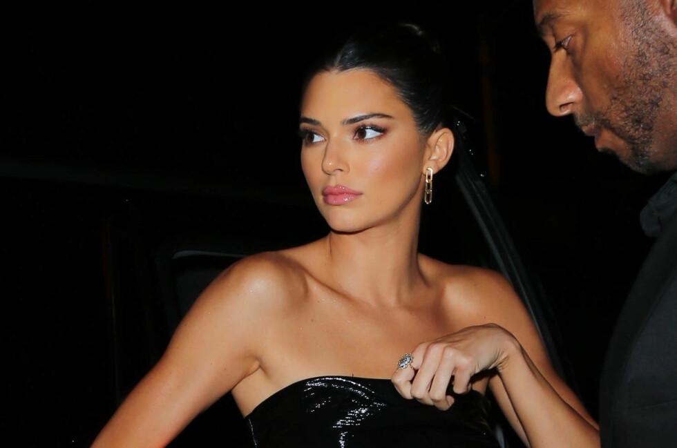 KENDALL JENNER: De siste dagene har det haglet kritikk mot Kendall Jenner etter hennes uttalelser om sine modellkolleger. Nå svarer hun på kritikken. Foto: NTB Scanpix