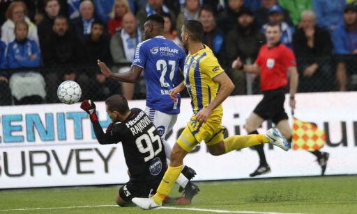 image: Her får Sarpsborg dommergaven som kan sende dem til Europa League