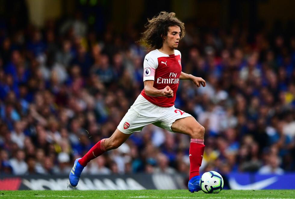 HAR VIST SEG FRAM: Arsenals Matteo Guendouzi. Foto: NTB Scanpix