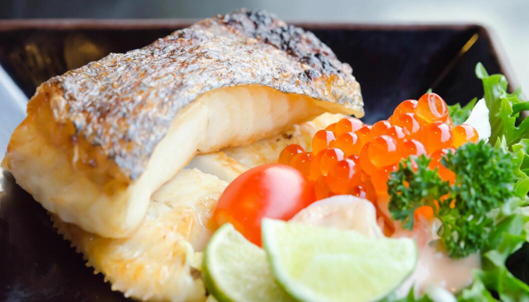 <strong>TORSK:</strong> Fisk bør være på middagstallerkenen 2-3 ganger i uka, er anbefalingene fra Helsedirektoratet. Foto: Colourbox