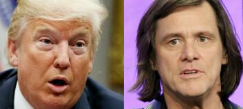 Jim Carrey brenner Trump på korset i ny kunst