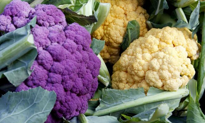 TAR KÅL PÅ KREFTEN: Blomkål er en sunn grønnsak som inneholder mye antioksidanter. Foto: Scanpix