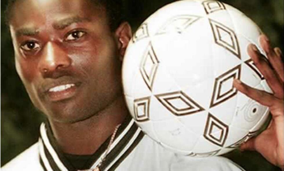 STORT TALENT: Tonton Zola Moukoko ble sett på som en av Sveriges mest lovende spillere da han ble Derby-spiller i 2000. Foto: Derby FC