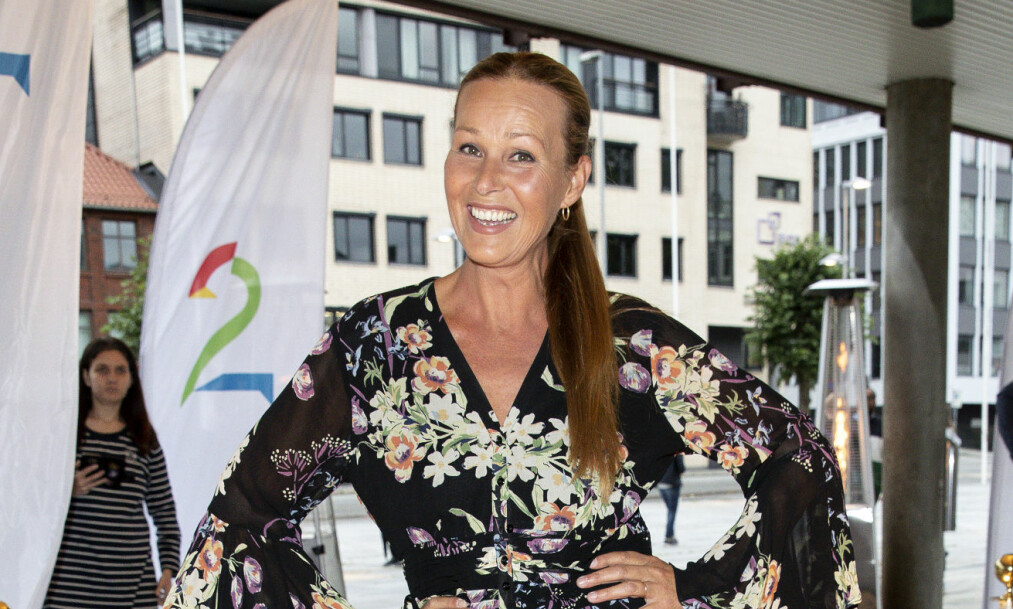 ÆRLIG: Dorthe Skappel blir å se i høstens sesong av «Skal vi danse» på TV 2. I et nytt intervju åpner hun seg opp om fortiden, mer spesifikt hvorfor hun valgte å la seg injisere med Botox og hvorfor hun opererte brystene. Foto: NTB scanpix