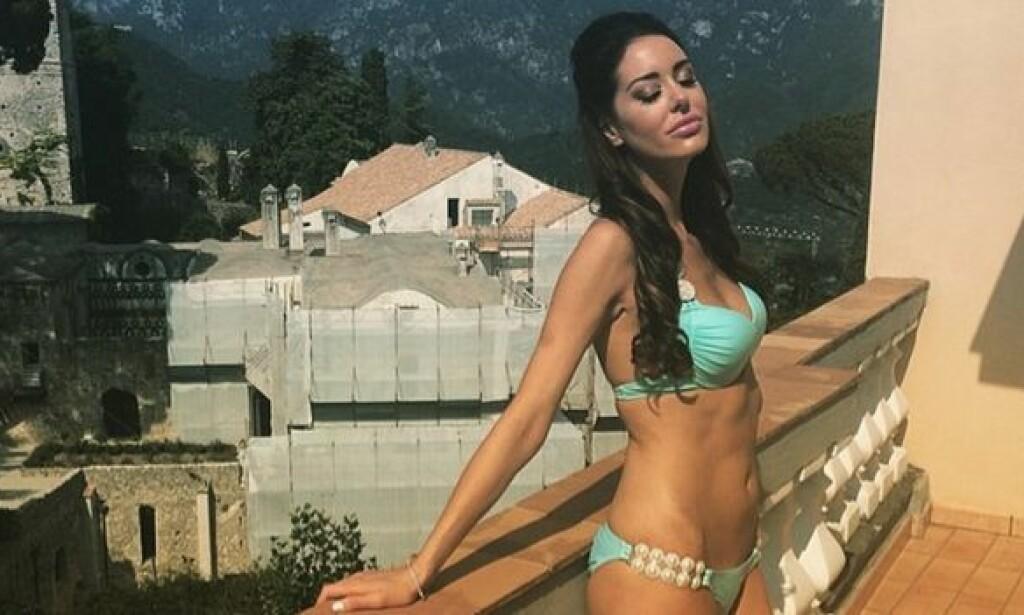 DREPT: Den tidligere Playboy-modellen Christina Carlin-Kraft ble onsdag funnet drept i sitt eget hjem. Foto: Instagram