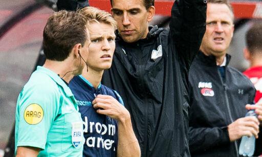 image: Innhopp for Ødegaard mot «norske» Alkmaar