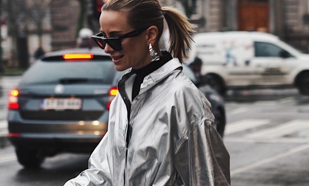 REGNJAKKE: En fin og funksjonell regnjakke er noe vi er på utkikk etter denne sesongen. Foto: Malin Gaden